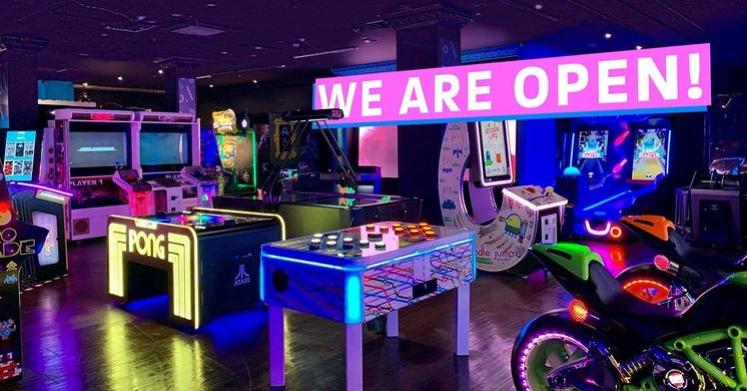 High Score Family Entertainment Arcade