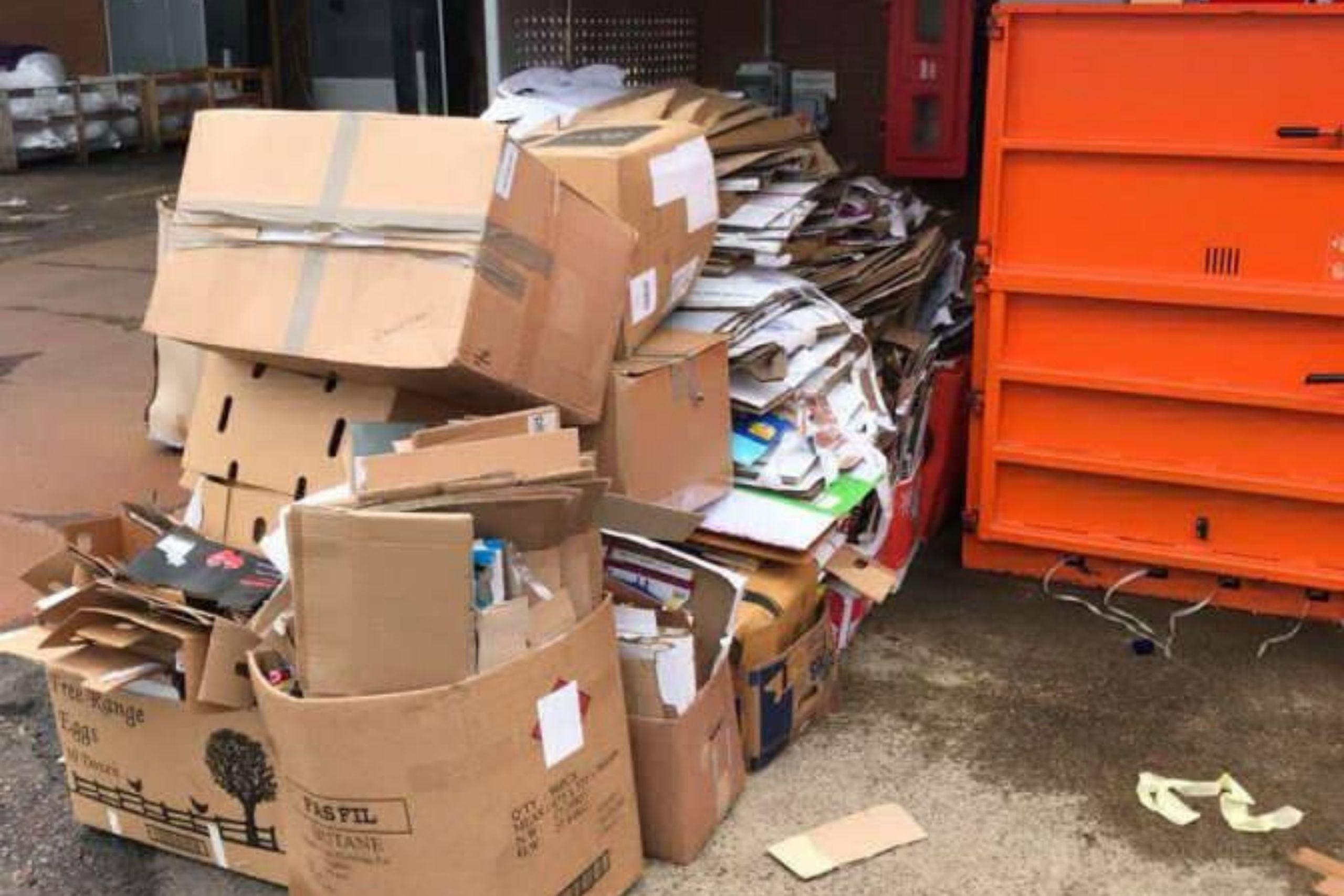 BID Services Cardboard Collection