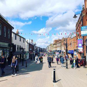 Newbury Town Centre Footfall
