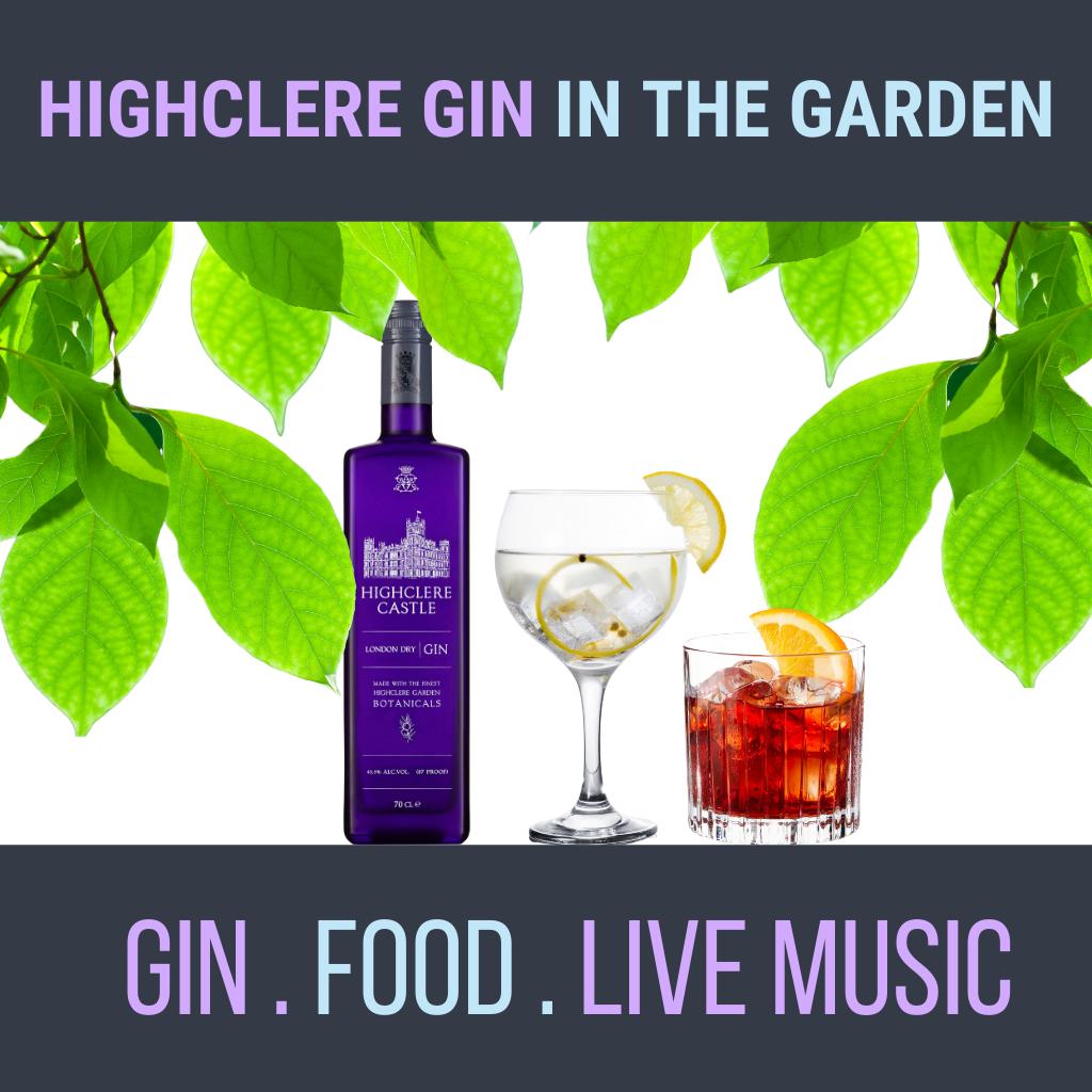 Highclere Gin in the Garden